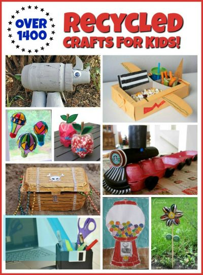 1400 Recycled Crafts For Kids Fun Family Crafts