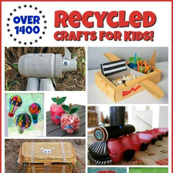 1400+ Recycled Crafts for Kids