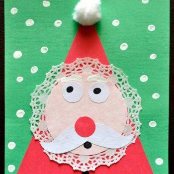Doily Santa
