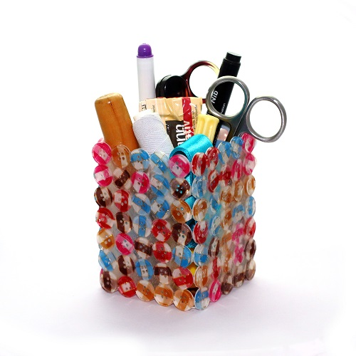 Free tutorial - How to organise your craft or sewing supplies with