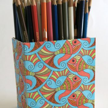 Coloring Page Altered Box