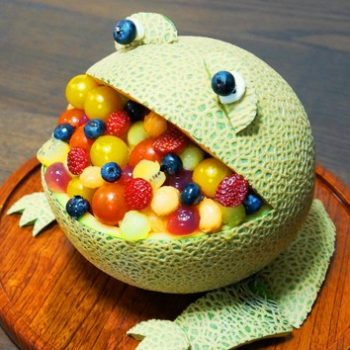 Hungry Frog Melon Bowl