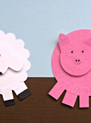 Paper Punch Sheep and Pig