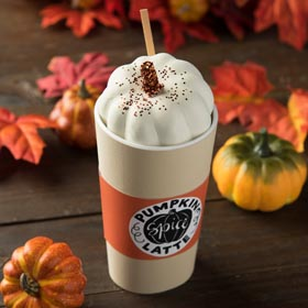 Pumpkin Spice Latte Decoration