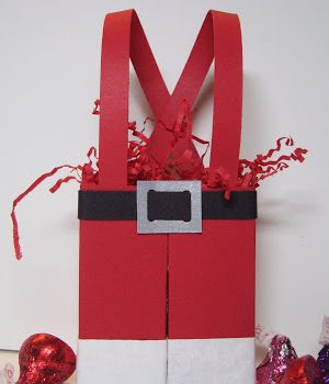 Santa Pants Treat Box