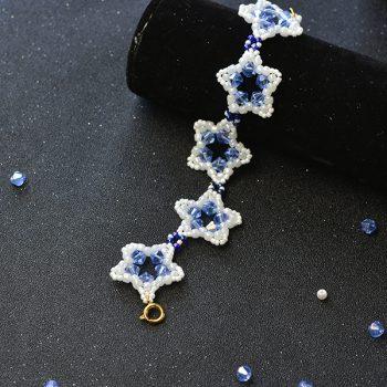 Star Seed Bead Bracelet