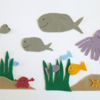 Underwater Felt Animals