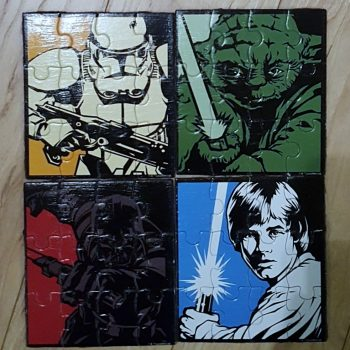 Star Wars Puzzle Coaster Set