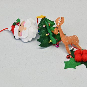 Dangling Felt Christmas Decoration
