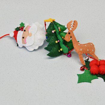 Dangling Felt Christmas Decoration