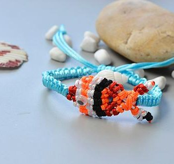 Clown Fish Friendship Bracelet