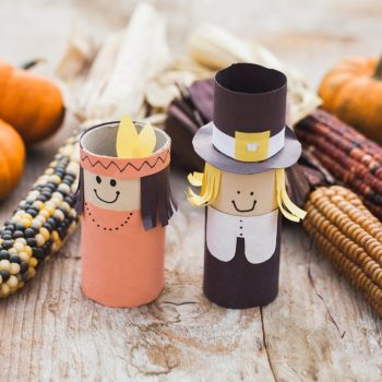 Thanksgiving Cardboard Tube Characters