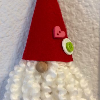 Cork Santa Gnome
