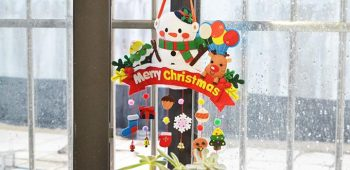 Pandahall Christmas DIY - How to Make Felt Hanging Decorations for Christmas