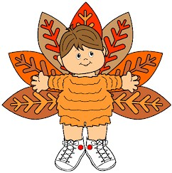 Playtime Paper Doll Turkey Costume