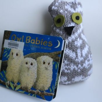 Upcycled Sweater Owl Baby