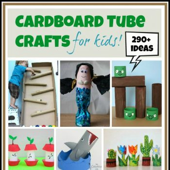 Cardboard Tube Crafts for Kids