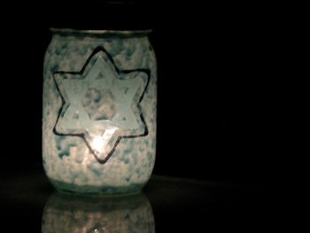 Star of David luminary