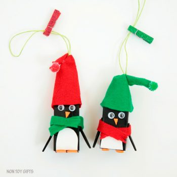Lego Penguin Ornaments