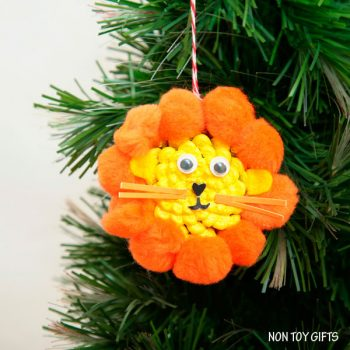 Pine Cone Lion Ornament