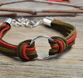 Simple Suede Cord Bracelet