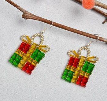 Christmas Gift Dangle Earrings