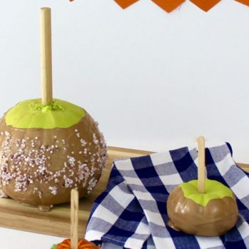 No-Carve Pumpkin Caramel Apple