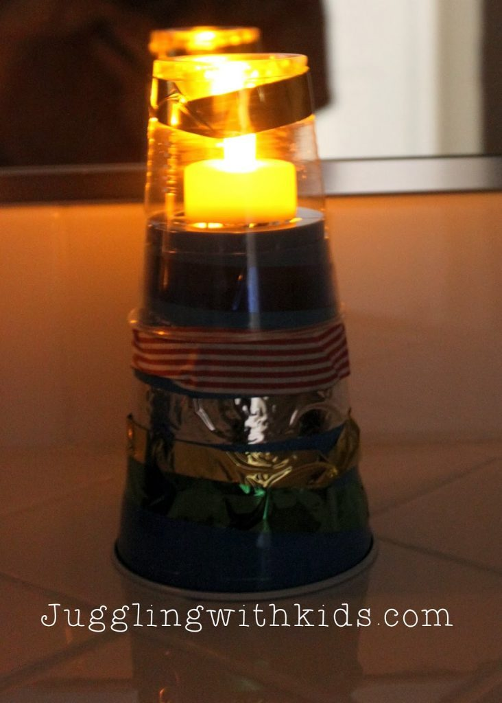 This mini lighthouse makes a fun nightlight