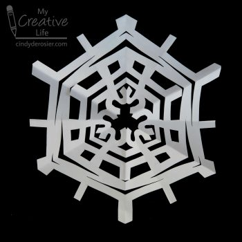 Six-Sided Name Snowflake
