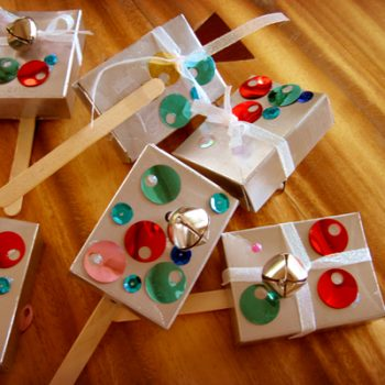 New Year's Raisin Box Noisemakers