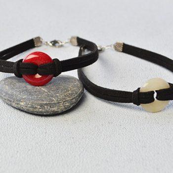 Suede Cord Bracelet