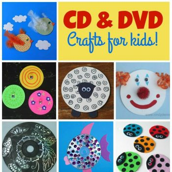 CD and DVD Crafts for Kids