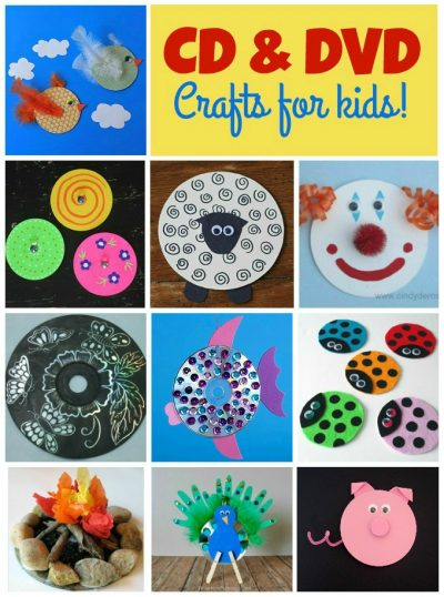Cd And Dvd Crafts For Kids Fun Family Crafts