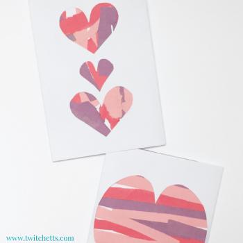 Scissor Practice Valentines