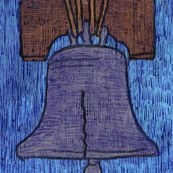 Liberty Bell Scratch Art