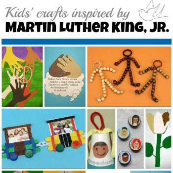 Martin Luther King Jr. Day Crafts for Kids