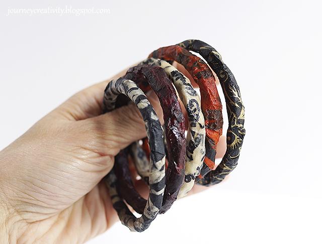 Paper bracelets
