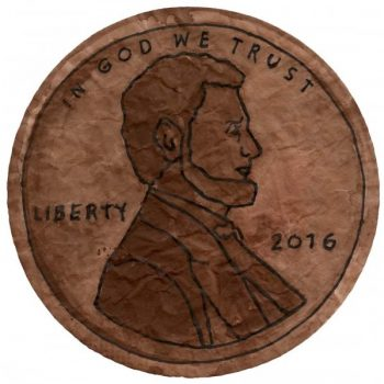 President's Day Penny Painting