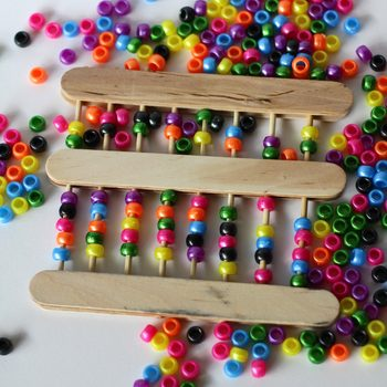 Craft Stick Abacus