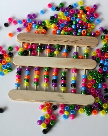 Craft Stick Abacus