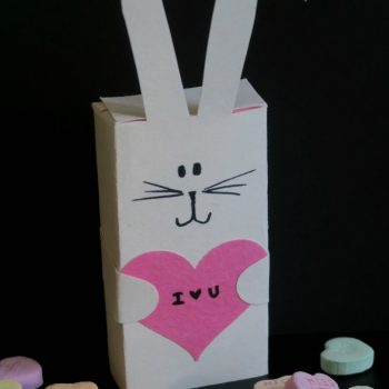 Conversation Hearts Bunny