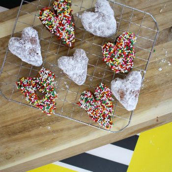 Easy Valentine Donuts