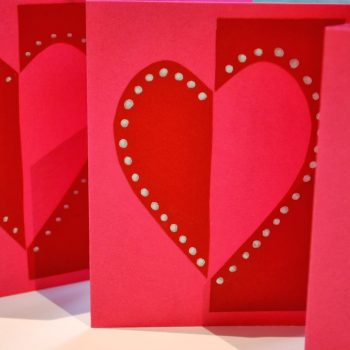 Quick Heart Cards