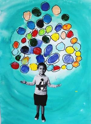 Turn circle drawing practice into juggling art!