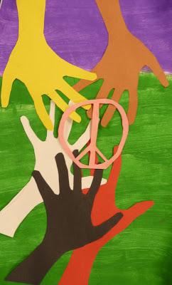 Handprint Peace Craft