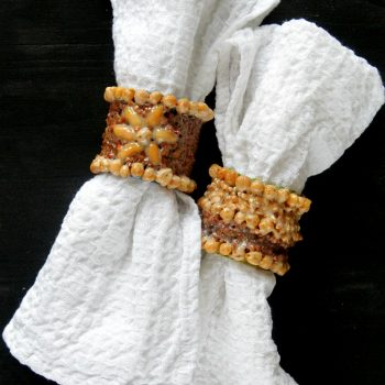 Nuts and Seeds Napkin Ring