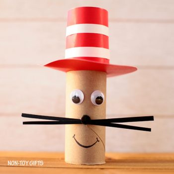 Cardboard Tube Cat in the Hat