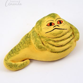 Salt Dough Jabba the Hutt