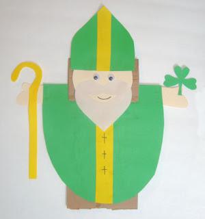 St. Patrick Puppet