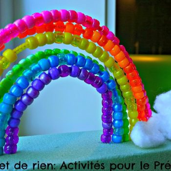 Pony Bead Rainbow